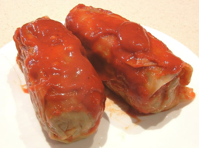 polish, stuffed cabbage