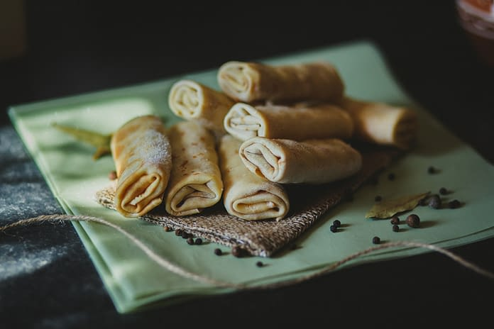 crepes, polish pancakes