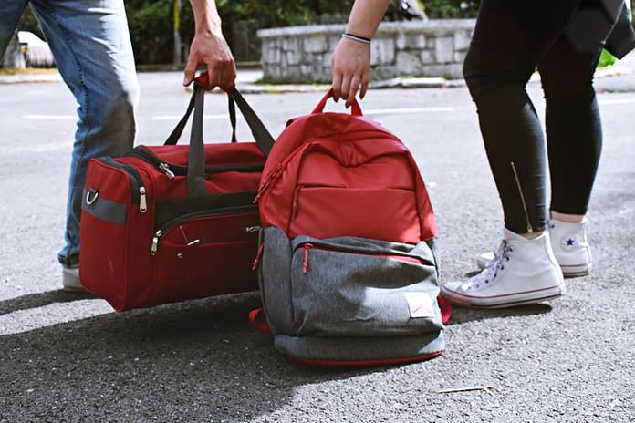 luggage, travel